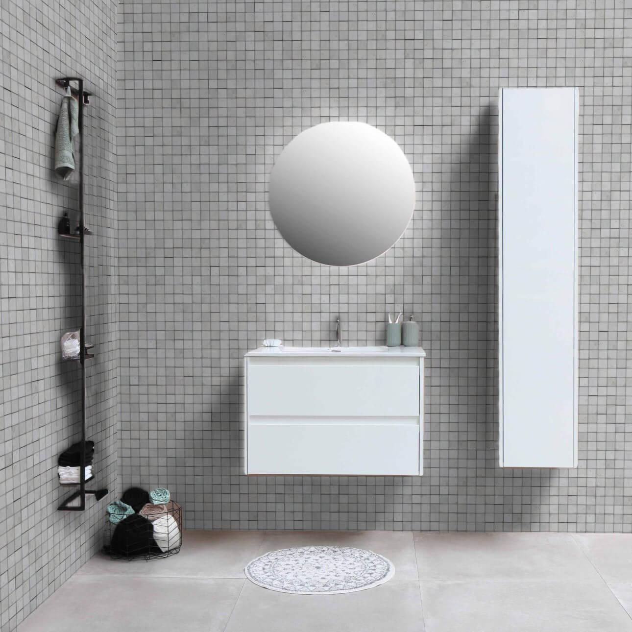 Opus de marbre White 5x5 cm