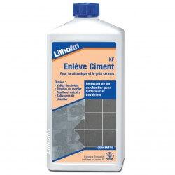 Entretien carrelage : Lithofin KF Enlève Ciment 1 L