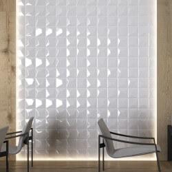Carrelage blanc Vertex Line White 15x15 cm