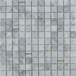Mosaïque Marbre blanc Denali 30x30 cm