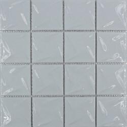 Mosaïque en porcelaine blanc Quartz 30x30 cm