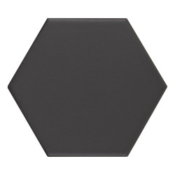 Carrelage hexagonal Kromatica Noir mat 11,6x10,1 cm