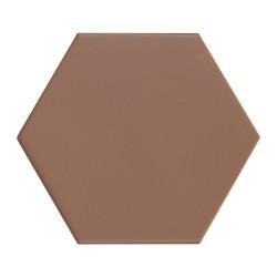 Carrelage hexagonal Kromatica Terracotta mat 11,6x10,1 cm