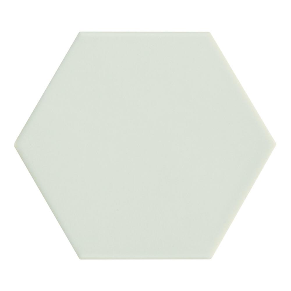 Carrelage hexagonal Kromatica Vert menthe mat 11,6x10,1 cm