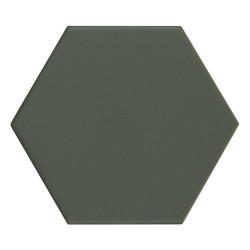 Carrelage hexagonal Kromatica Kaki mat 11,6x10,1 cm