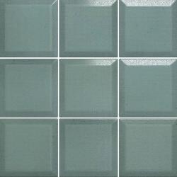 Carrelage Memphis Vert Emeraude mat 10x10 cm