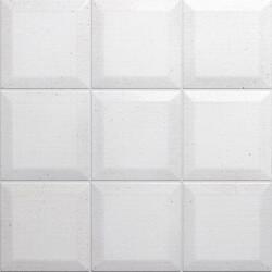 Carrelage Memphis Blanc mat 10x10 cm