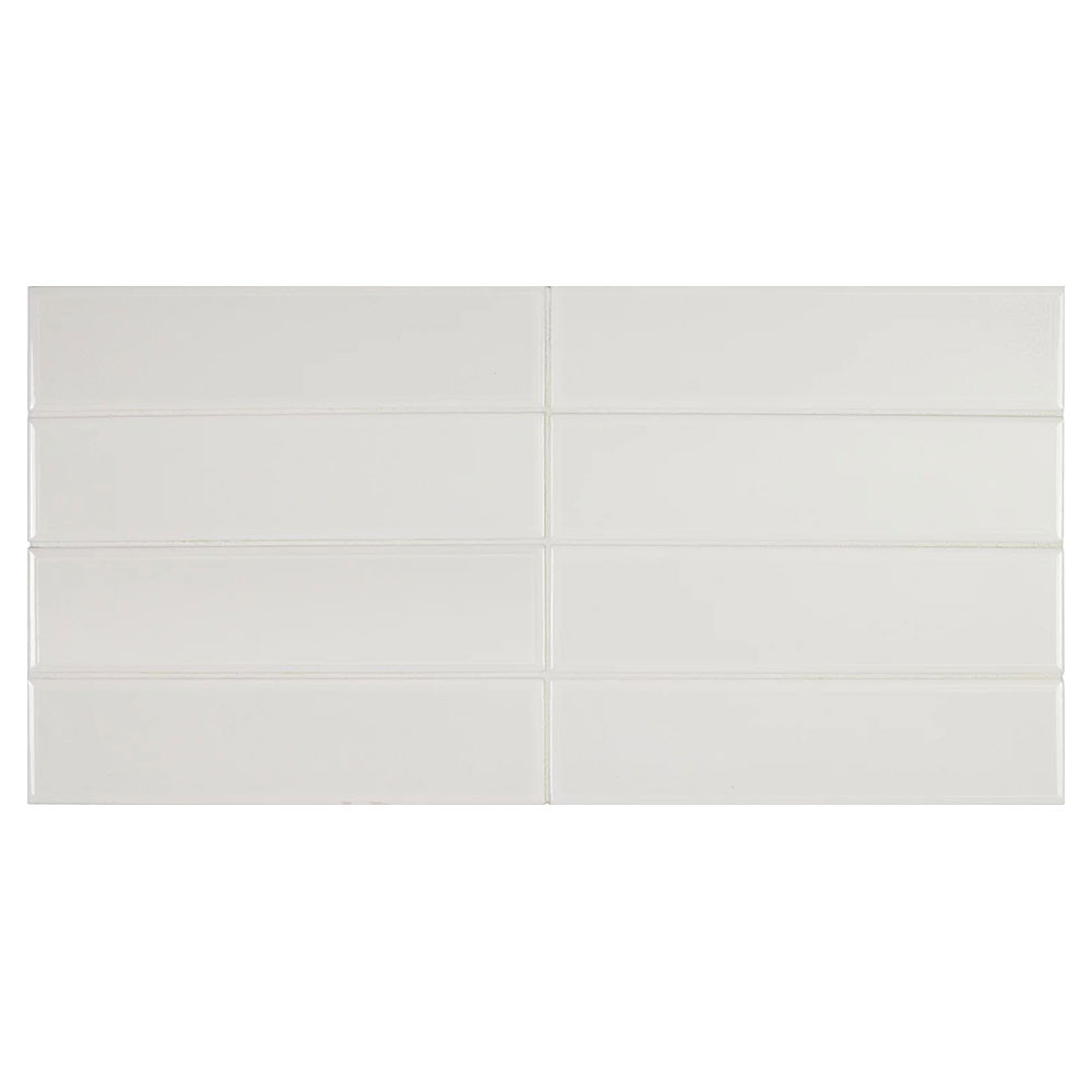 Carrelage Limit Blanc 6x24.6 cm