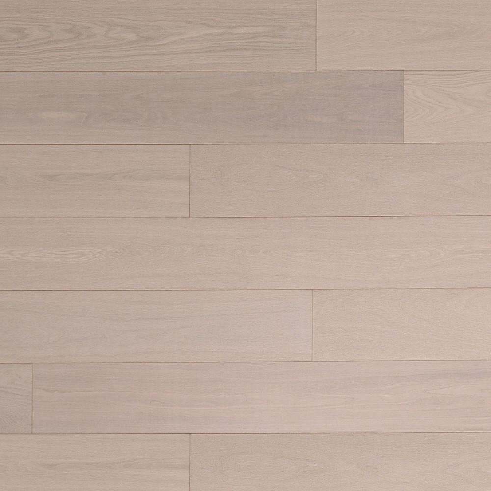 Parquet contrecollé Clusone Cotton White mat 15x190 mm