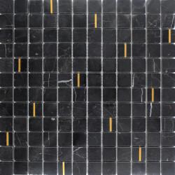 Mosaïque Marbre Noir Evans 30x30 cm