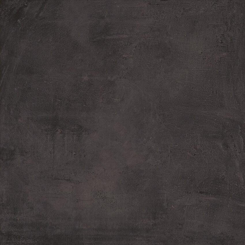 Carrelage sol aspect béton Nice Anthracite 80x80 cm