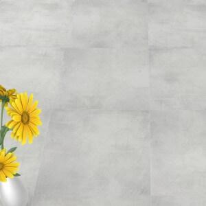 Carrelage sol aspect béton Nice Bianco 60x60 cm