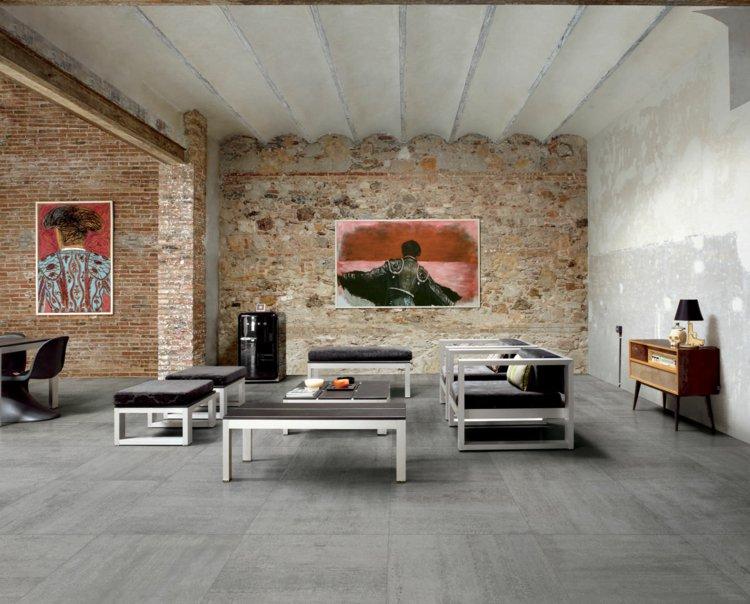 cinq nuances de carrelage gris des id es pour le carrelage sol. Black Bedroom Furniture Sets. Home Design Ideas